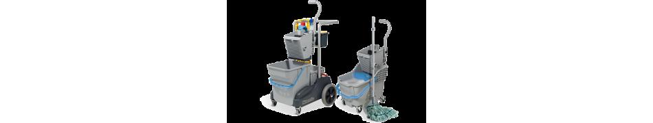 Numatic Profesjonalne Wózki do sprzątania - wiaderkowe
