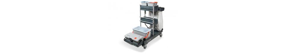 Numatic Profesjonalne Wózki do sprzątania - Do dezynfekcji