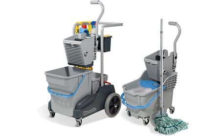 Małe wózki do sprzątania